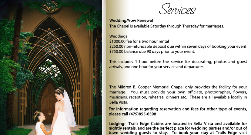 Mildred B. Cooper Memorial Chapel Services